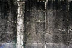 Muro di mattoni del cemento Immagini Stock