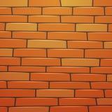 Muro di mattoni del fumetto Fotografia Stock