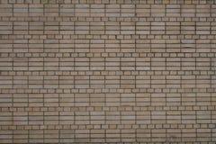 Muro di mattoni della curva di Brown per struttura e fondo Immagine Stock