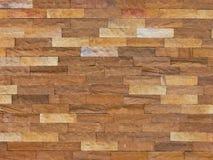 Muro di mattoni della pietra della sabbia del primo piano Fotografia Stock Libera da Diritti