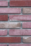 Muro di mattoni dentellare Fotografia Stock