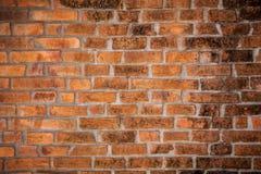 Muro di mattoni di Brown Immagine Stock Libera da Diritti