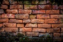 Muro di mattoni di Brown Immagini Stock