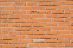 Muro di mattoni di colore del Brown Immagine Stock Libera da Diritti