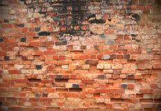 Muro di mattoni di Grunge immagine stock