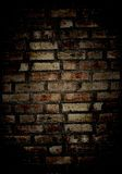 Muro di mattoni di Grunge Fotografie Stock Libere da Diritti