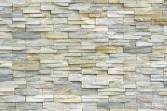 Muro di mattoni di pietra Immagine Stock
