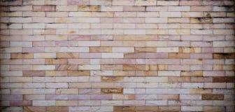 Muro di mattoni di pietra Fotografia Stock Libera da Diritti