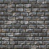 Muro di mattoni di pietra senza giunte Fotografia Stock