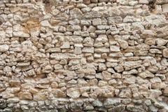 Muro di mattoni di vecchia città Immagini Stock Libere da Diritti