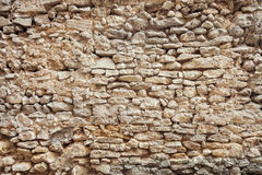 Muro di mattoni di vecchia città Fotografia Stock Libera da Diritti