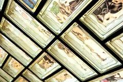 Muro di mattoni di vetro Immagine Stock