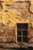 Muro di mattoni e finestra Immagini Stock Libere da Diritti