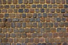 Muro di mattoni - fortezza antica Fotografia Stock