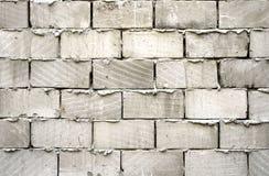 Muro di mattoni grigio Immagini Stock Libere da Diritti