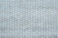 Muro di mattoni grigio per fondo e struttura Immagini Stock Libere da Diritti
