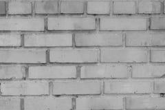 Muro di mattoni grigio per fondo e struttura Fotografie Stock Libere da Diritti