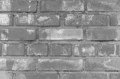 Muro di mattoni grigio per fondo e struttura Immagine Stock Libera da Diritti