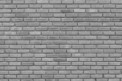 Muro di mattoni grigio per il modello, il fondo e la progettazione immagini stock libere da diritti