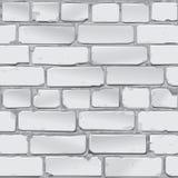 Muro di mattoni grigio Vettore Fotografia Stock Libera da Diritti