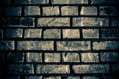 Muro di mattoni incrinato argento Immagine Stock Libera da Diritti