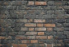 Muro di mattoni invecchiato Immagine Stock