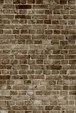Muro di mattoni invecchiato Immagini Stock Libere da Diritti