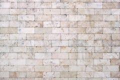 Muro di mattoni leggero per fondo fotografia stock