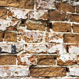 Muro di mattoni molto vecchio Fotografia Stock Libera da Diritti