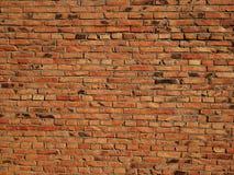 Muro di mattoni nostalgico fotografia stock