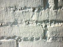 Muro di mattoni o fondo bianco fotografia stock libera da diritti