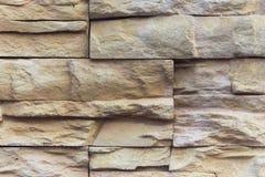 Muro di mattoni di pietra Fotografie Stock Libere da Diritti