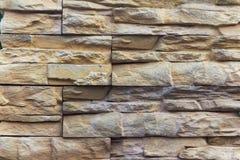 Muro di mattoni di pietra Immagini Stock Libere da Diritti