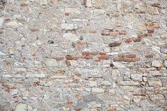 Muro di mattoni di pietra moderno Fotografia Stock