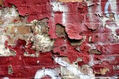 Muro di mattoni rosso Immagine Stock Libera da Diritti
