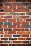 Muro di mattoni rosso Fotografie Stock