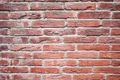 Muro di mattoni rosso, decorativo Struttura, fondo, decorazione fotografia stock libera da diritti