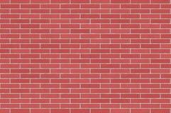 Muro di mattoni rosso e viola Immagini Stock Libere da Diritti