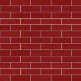 Muro di mattoni rosso Sandblasted Immagine Stock