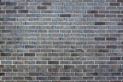 Muro di mattoni scuro Fotografie Stock