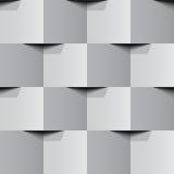 Muro di mattoni senza cuciture di vettore Fotografie Stock Libere da Diritti