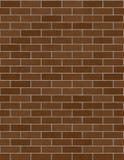 Muro di mattoni senza giunte Immagine Stock