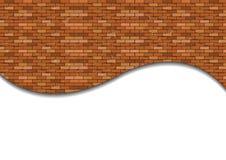 Muro di mattoni senza giunte Fotografia Stock Libera da Diritti