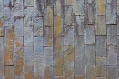Muro di mattoni sporco fotografie stock libere da diritti