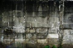 Muro di mattoni sporco Immagine Stock
