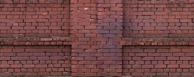 Muro di mattoni, struttura senza cuciture, mattonelle Immagine Stock