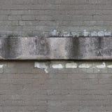 Muro di mattoni, struttura senza cuciture, mattonelle Immagini Stock Libere da Diritti