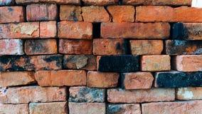 Muro di mattoni Un'immagine di vecchio muro di mattoni è visualizzata fotografia stock libera da diritti