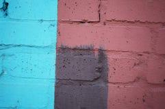Muro di mattoni variopinto Fotografie Stock Libere da Diritti