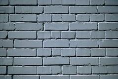 Muro di mattoni verniciato bianco Fotografia Stock Libera da Diritti